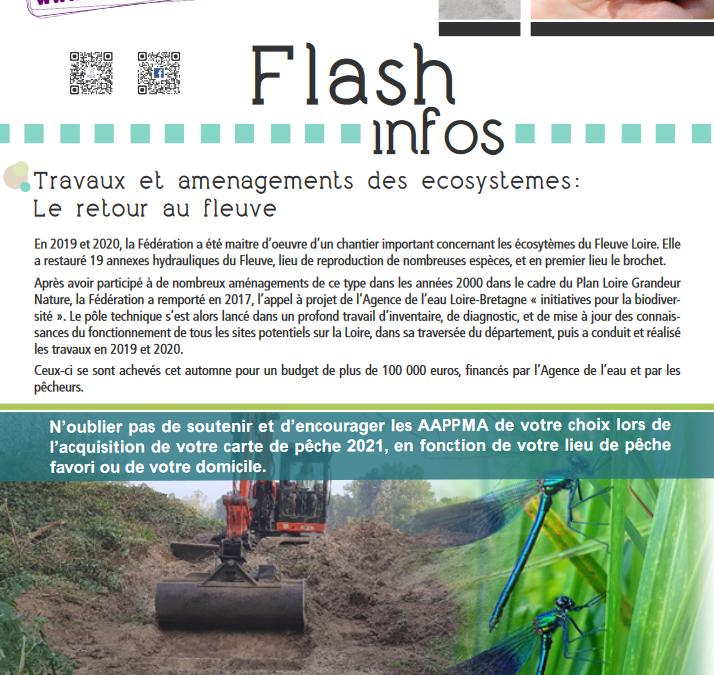 Flash info 18 Janvier 2021